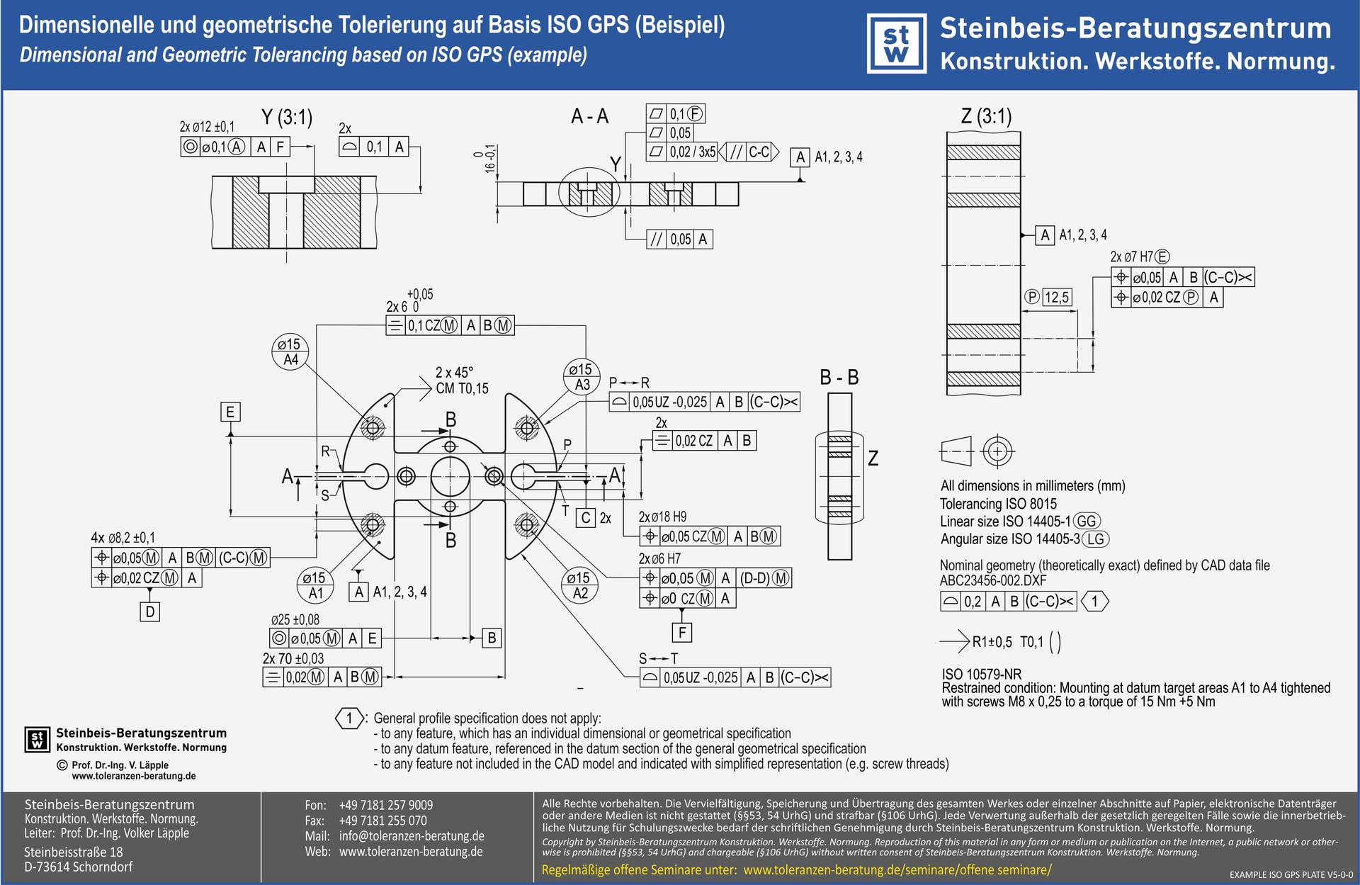 Mass Form Und Lagetoleranzen Iso Gps Basisseminar